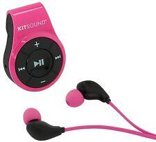 KitSound Cuffie BLUETOOTH AURICOLARI MIC riprodurre musica chiamate durante le attività