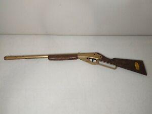 VTG Daisy Model 1201 Golden BB Gun Rifle Rogers AR *WORKS* RARE