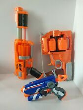 Lot of 3 Nerf Guns Flipfury Dart Tag Fietstrike Tested and Working
