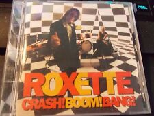 Crash! Boom! Bang! by Roxette, CD (1994 EMI Music) VG Condition Record Club CD