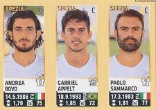 N°741 GABRIEL APPELT # BRAZIL AC.SPEZIA ITALIA CALCIATORI 2014 PANINI STICKER
