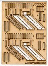 Ancorton Models 95741 Signal Box Steps Scratch Builders Pack 00 Gauge Model Rail