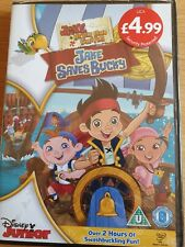 Jake and The Never Land Pirates - Jake Saves Bucky (DVD, 2013)