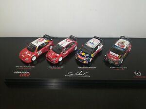 1/43 X4 Special Box Sébastien Loeb WRC Citroën Sport Rally Transkit code 3