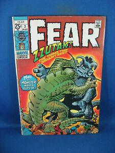FEAR  3 VG F 1971