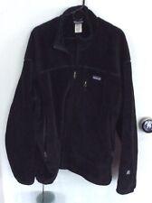 Vtg PATAGONIA R4 Regulator Fleece Jacket Black Men's POLARTEC XXL 2XL