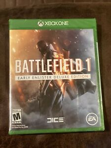 Battlefield 1:Early Enlister Deluxe Edition (Microsoft Xbox One, 2016) BRAND NEW