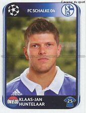 N°122 HUNTELAAR NETHERLANDS SCHALKE 04 UEFA CHAMPIONS LEAGUE 2011 STICKER PANINI