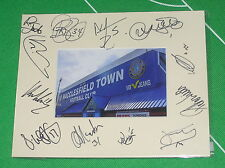 Macclesfield Town Moss Rose Ground Mount Multi-Signed x Twelve 2012/2013 Squad