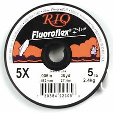 30Yds Rio Fluoroflex Plus LEADER SALMON & Saltwater Tippet 15 lb (environ 6.80 kg) Fluorocarbone