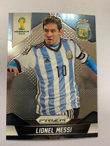 LIONEL MESSI 2014 PANINI PRIZM SOCCER CARD # 12 ARGENTINA FIRST PRIZM CARD