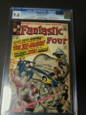 FANTASTIC FOUR #28 CGC 9.6 OW/White pages QES certified 1st Meeting X-Men