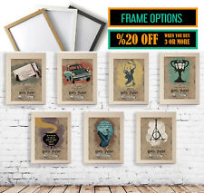 Harry Potter Quote Posters, Frame Movie Print Options, A3 A4 Size Wall Art Gift