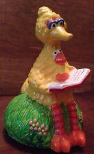 Big Bird Vintage Sesame Street Ceramic Musical Rotating Statue 1981 Muppets Inc