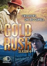 Gold Rush Complete Season 4 Four R1 DVD Discovery Channel