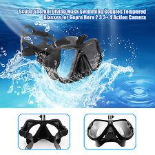 Submarinismo Gafas Máscara templado Gafas Lente para GoPro Hero 5/4/3 +/3/2 SJ4000
