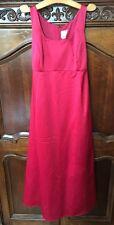 Michaelangelo Apple Red Style Sleeveless Bridesmaid Dress Gown sz 1X  -Maternity