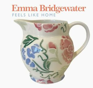 Emma Bridgewater Half Pint Jug Rare Blossom New