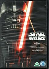 DVD – STAR WARS – A NEW HOPE / EMPIRE STRIKES BACK / RETURN OF THE JEDI 3 DVD'S