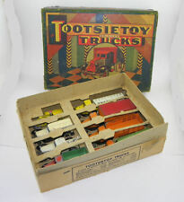 Antique Tootsie Toys Deluxe Trucks in the Original Box