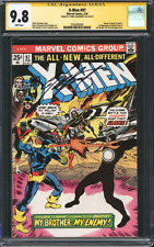X-MEN #97 (1976) CGC 9.8 NM/M SS / 1st Lilandra / Signed by Chris Claremont!
