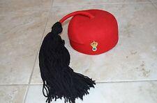 Greece - original hat (fario) of Greek evzon king 's period (1946 - 1973) (rare)