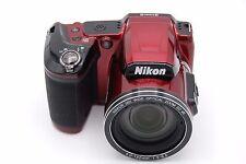 NIKON COOLPIX L840 16MP 3''Screen 38x Zoom Digital Camera RED