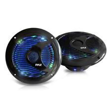 Pyle 6.5'' Waterproof Audio Marine Grade Dual Speakers (PLMR6LEB)