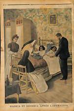 RADICA DOODICA INDIA Indian Siamese Twins DOCTEUR OPÉRATION Eugène Doyen 1902