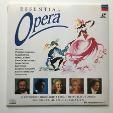 Essential Opera | PAL | LASERDISC still sealed