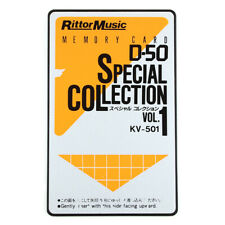 Rittor Music D-50 Special Collection KV-501 ROM Card for Roland D-50 synth