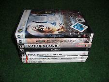 PC Spiele Spiel Sammlung sacred 2 fifa manager NHL Dawn War Magic EA Fussball