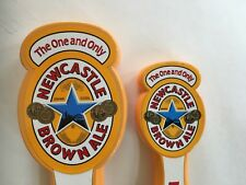 BEER TAP HANDLE NEWCASTLE BROWN ALE 2pcs