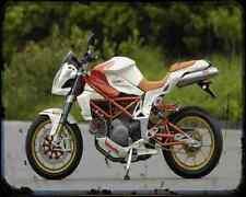 Bimota Db6C 1098  1 A4 Metal Sign Motorbike Vintage Aged