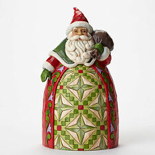 Jim Shore Santa w/Toy Bag Tribute Figurine ~ Goodwill to All ~ 4046765