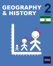Geography & History. 2.ºESO Ed.OXFORD  (en inglés) ISBN 9780190516086