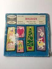 Vintage Geneva Records for the Children's Hour Holidays 78 R.P.M. 8 Sides (J)