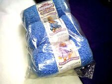 NEW DISCONTINUED BERNAT BABY BOUCLE YARN 3 - 3.5 oz Factory Packaged BUDDY BLUE
