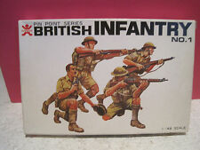 BANDAI N°1 SOLDATS BRITISH INFANTRY 1/48 NEUF  KIT MAQUETTE