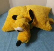 "Disney Parks Pluto Pillow Pal Plush 20"" Soft Dog"