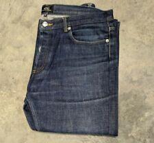 APC Men's Petite New Standard Button Fly Raw Denim Jeans Size 34