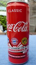COCA-COLA COKE CAN GERMANY FOOTBALL CLUB HISTORY VEREINSGESCHICHTE FULL & NEW