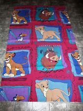 Disney's THE LION KING Simba Window Curtain Fabric Colorful Nice! FREE SHIPPING!