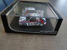 HPI-RACING 1/43 TWIN SET LANCIA DELTA HF D. AURIOL MONTE CARLO/CORSE 1992 N°8040