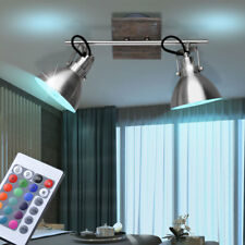 Country House Style LED Cover Spotlight Rotating Dinner Room Light RGB Remote