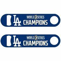 World Series Champions Los Angeles Dodgers World Series Metal Bottle Opener