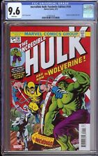 Incredible Hulk #181 Facsimile Edition CGC 9.6 NM+ *1ST APPERANCE WOLVERINE*