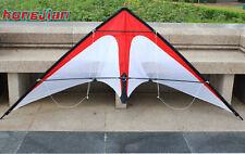 NEW 1.8m 70In Stunt Triangle Delta Dual line Kite Outdoor Fun Sports Surfing
