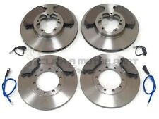 FORD TRANSIT 280 300 330 350 RWD 2006-2013 FRONT & REAR BRAKE DISCS AND PADS NEW