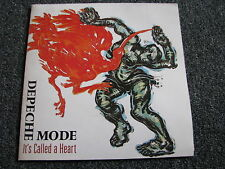 Depeche MODE-IT 's ID a heart 7 PS-POSTER COVER - 1985-pop - Single - 45/Umin-NL